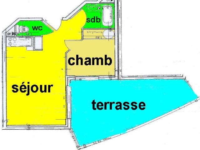 TURQUOISE T2 CAVALAIRE sur mer