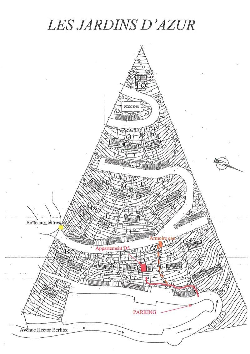JARDINS D'AZUR T2 CAVALAIRE sur mer
